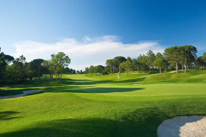 PGA Golf de Catalunya #10 Green